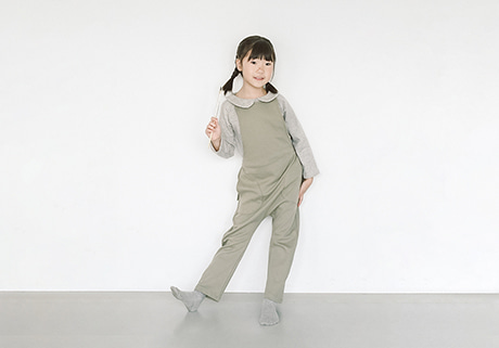 Cotton Overall Pants (2 color)