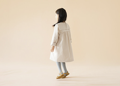 Sailor Trench Coat, Beige