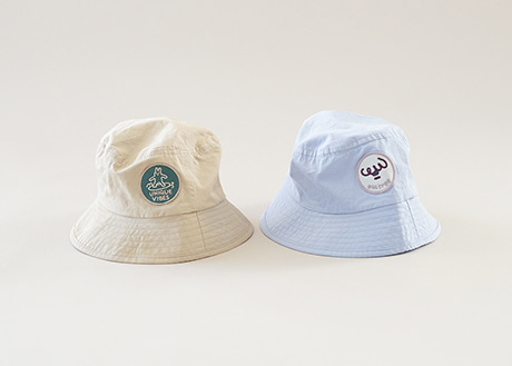 Patch Bucket Hat (2 Color)